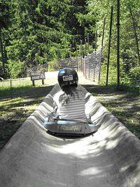Summer Luge at Chamonix