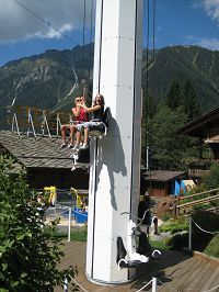 Adventure park in Chamonix