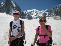 Glacier walk from Chamonix across the Mer de Glace
